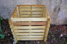 composteur en bois PROHEIM 110 L